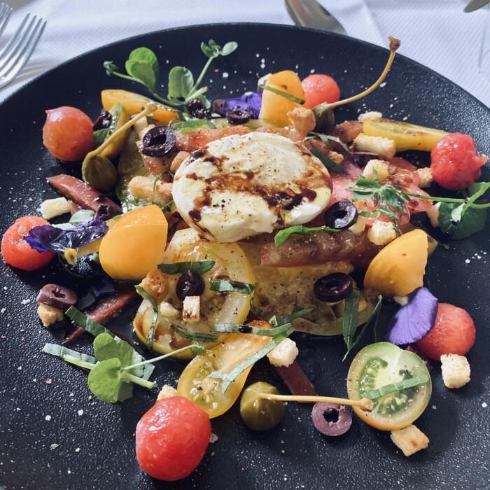 Mozzarella Buratta - Restaurant gastronomique